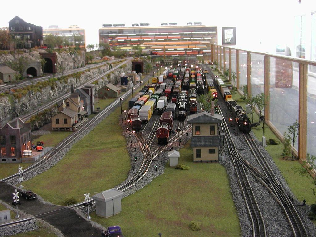 Model train depot  Smoky Mountain Trains Bryson City Swain  Flickr