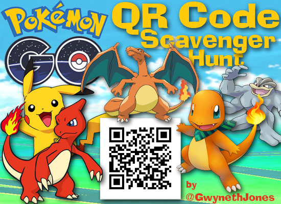 pokemon go qr code