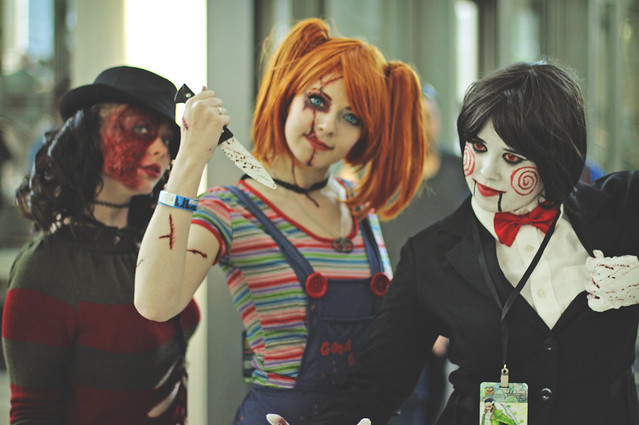 Top 5 Best Horror COSPLAYs at Denver Comic Con ~ ToyLab