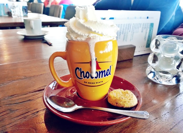 Perfect for rainy days in autumn: Hot chocolate!