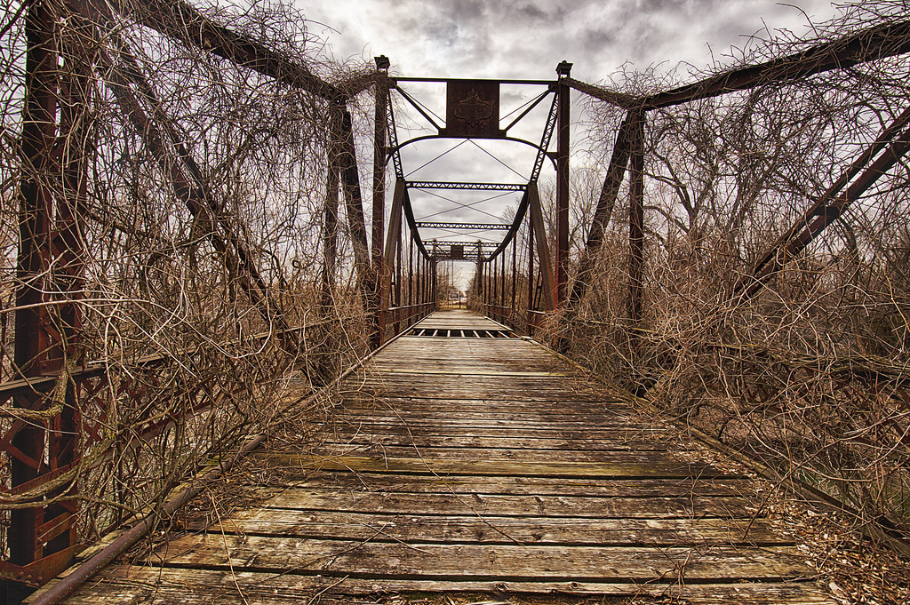 Asylum Bridge The Small Town Of Osawatomie Ks Has Had A