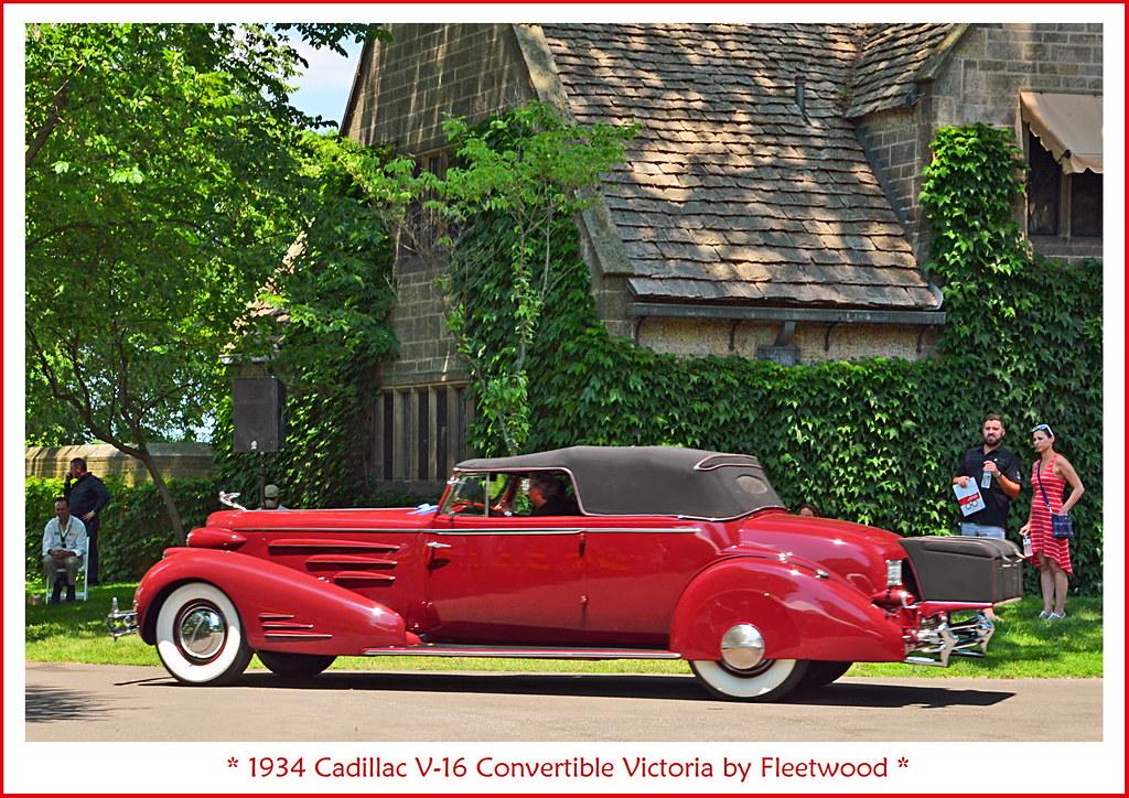 1934 Cadillac V16 Convertible Victoria by Fleetwood  Flickr