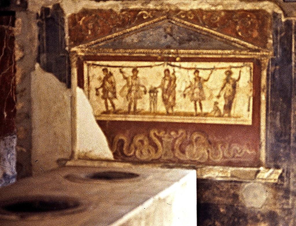 Italie Pompi Thermopolium de Vetutius Placidus  Diapo