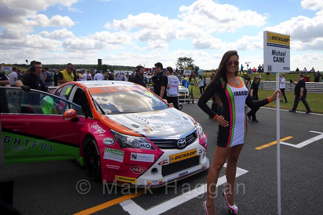 The Grid Walks at the BTCC 2016 Weekend at Snetterton