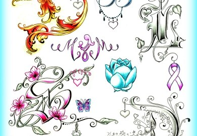 Letter D Tattoos And Tattoo Designs