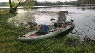 larry chair kayak inexpensive ergonomic chairs when you drive almost 1 000 miles to fish with your flickr and forget seat