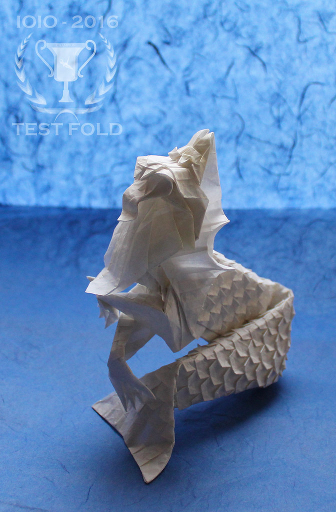 money origami diagram 2005 ford f150 stock radio wiring merlion (version 3. 0) | official test fold of ioio-2016 dia… flickr