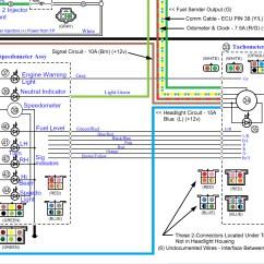 Yamaha Tach Wiring Diagram 99 Ford F250 Clock Display Road Star Warrior Forum