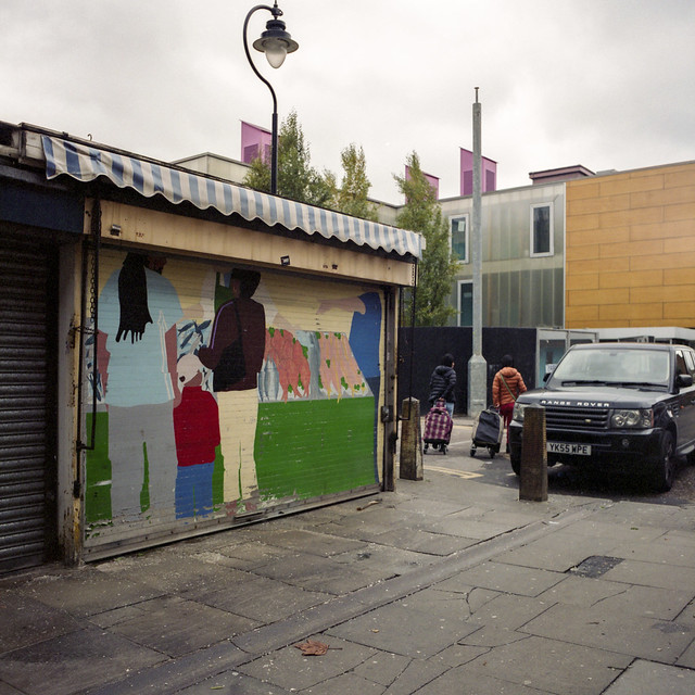 Catherine Rive, Holcombe Market Murals, 2005