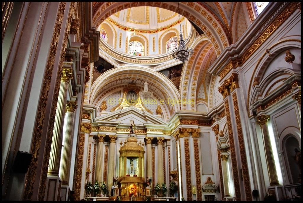 Santuario Nuestro Seor de Chalma Interiores MalinalcoE  Flickr