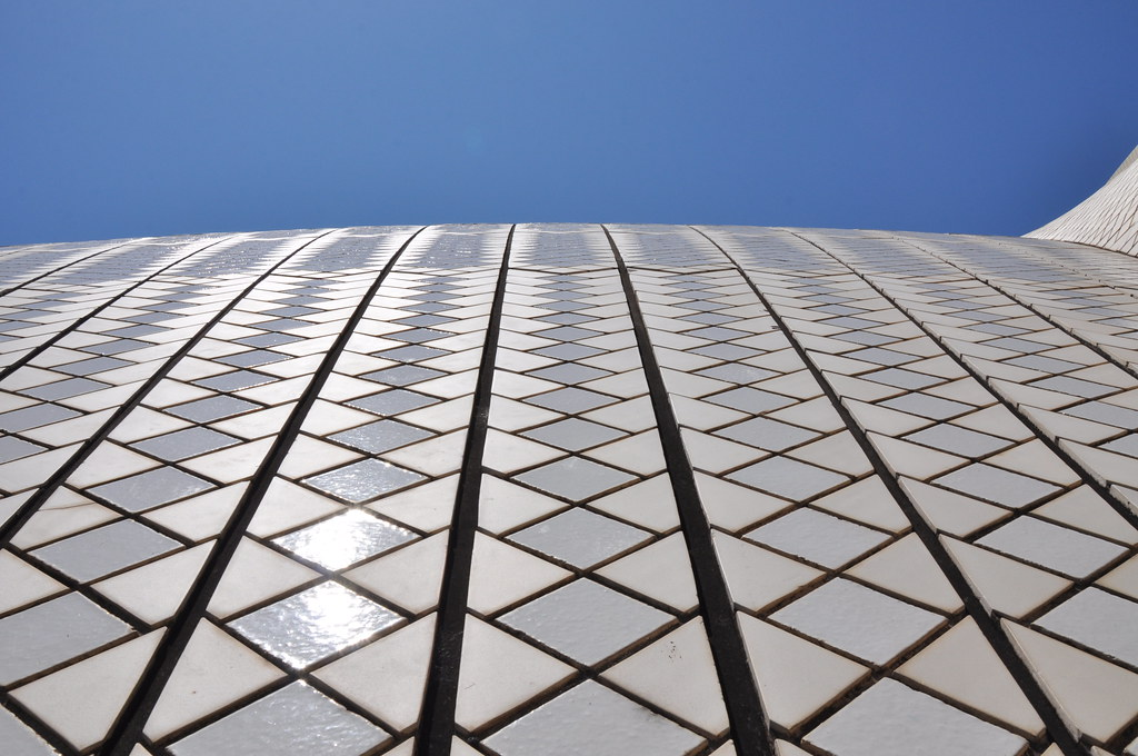 Some of the 1056006 tiles that cover the Sydney Opera Ho  Flickr
