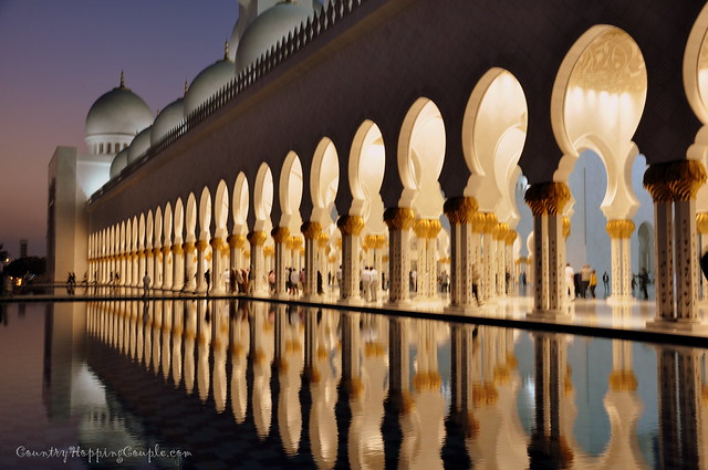 Grand Mosque Abu Dhabi 2
