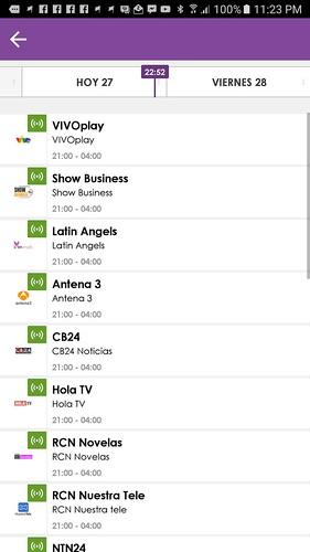 Nuevas señales hispanoamericanas se incorporan a VivoPlay.