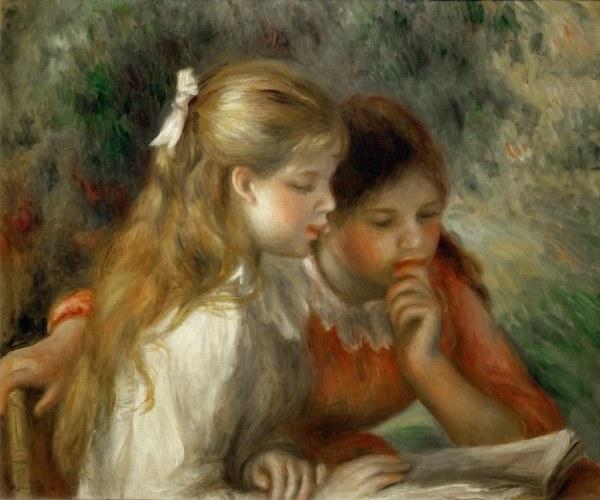 Pierre-auguste Renoir 1892 Reading Mus Du Louvre