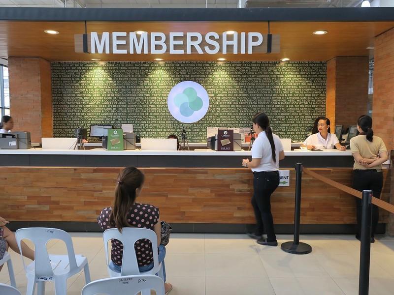 Membership counter
