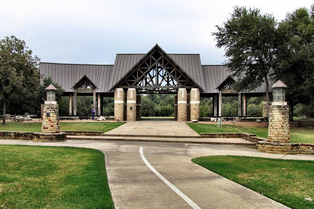 There are some nice structures at River Legacy Park in Arl