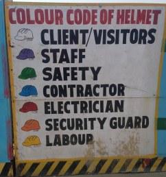 delhi metro construction worker helmet color codes by wayan vota [ 768 x 1024 Pixel ]