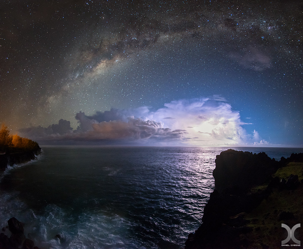 3d Wallpaper Clouds Astro Thunder Amazing Astrophotography Night During My