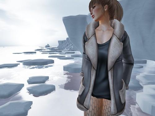 Foxes - Fleece Jacket - Grey