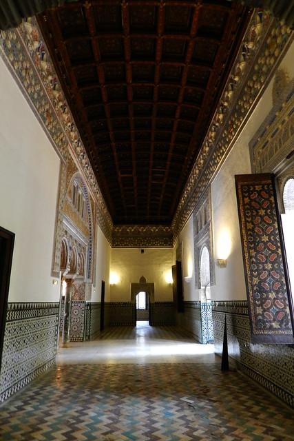 Salon del techo de Felipe II Real Alcazar Sevilla 11