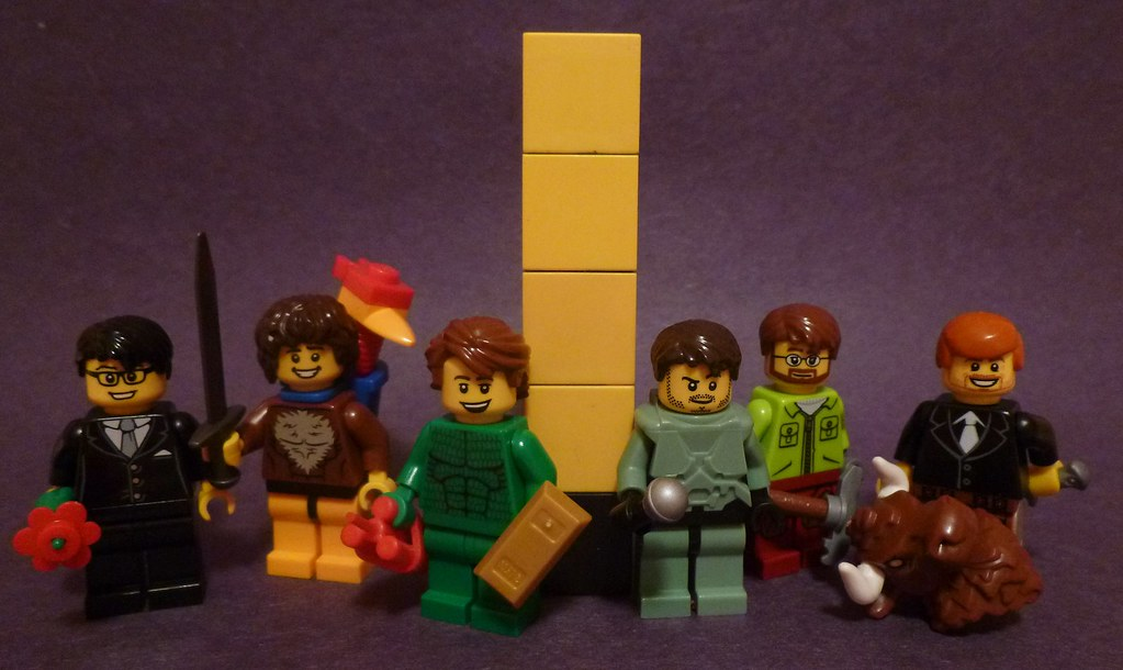 Lego Achievement Hunter Here Are Some Quick Purist Version Flickr
