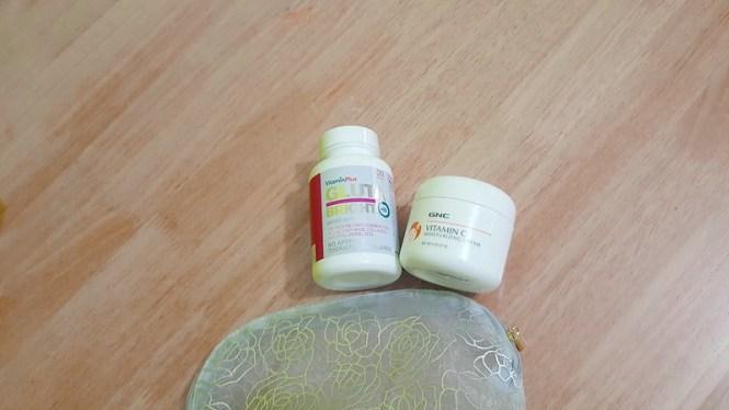 GNC vitamin plus and Mositurizing cream