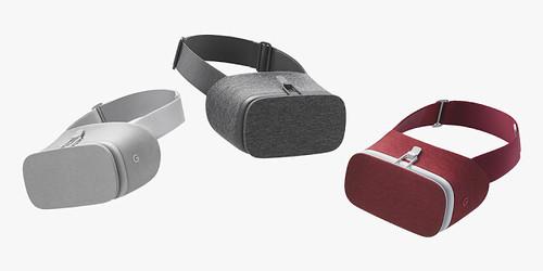 Este es el Daydream VR, estos son los tres colores disponibles.
