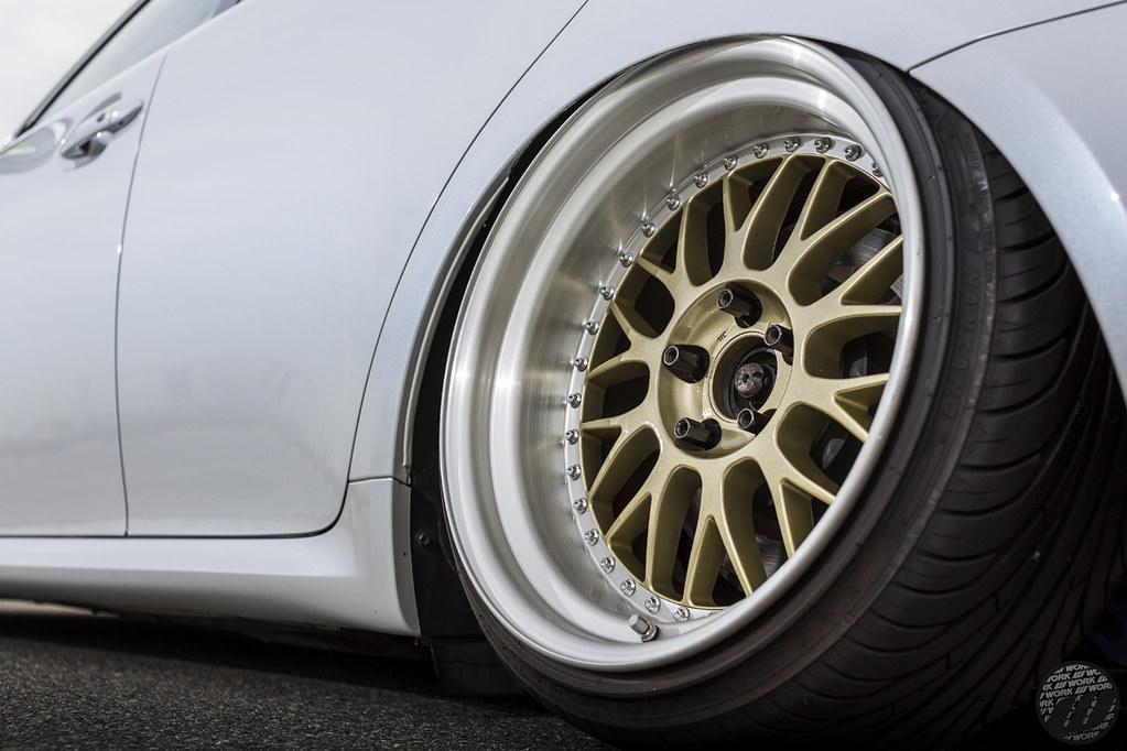 BALANCE Lexus IS350 on WORK Meister m1 3pce  WORK Wheels