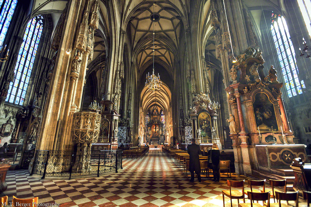 Stephansdom  Inside the St Stephens Cathedral in Vienna   Flickr