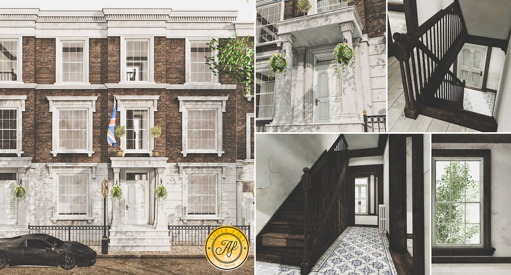 AF Chelsea Townhouse  Available now at COLLABOR88 A