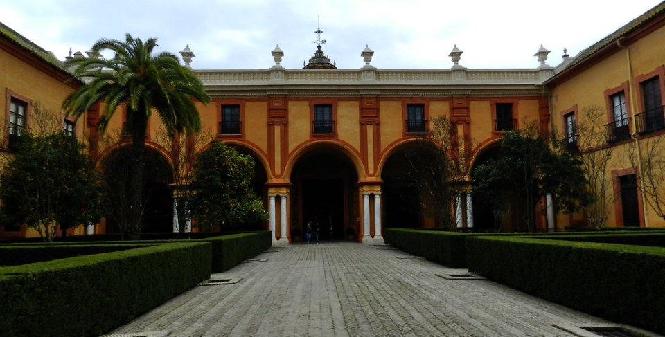 Patio del Crucero Real Alcázar Sevilla 04