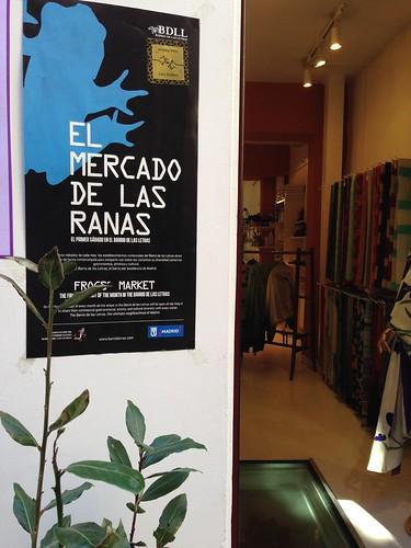 Mercado de las Ranas, Barrio de las Letras. Madrid