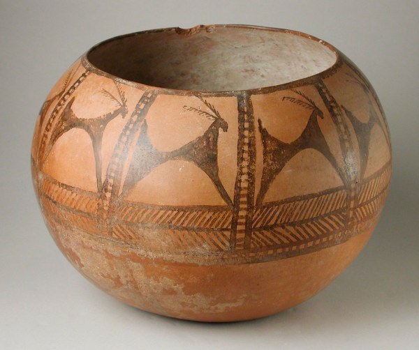 Prehistoric Painted Pottery Vessel Lacma .76.174.156