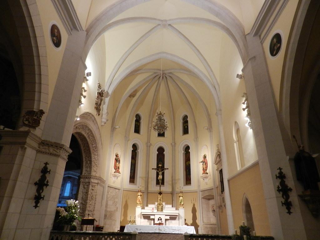 nave central Iglesia de San Pablo Peñafiel Valladolid 06