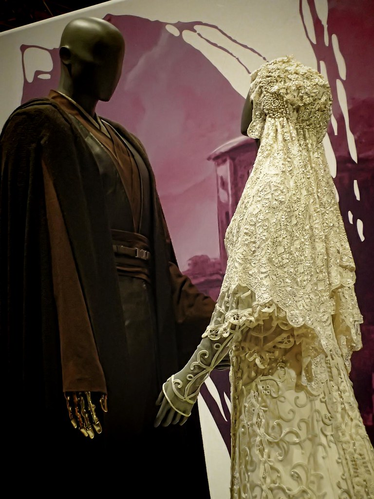 Closer view of Wedding Ensemble of Anakin Skywalker and Pa