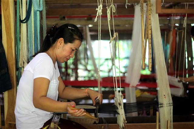 Ock Pop Tok Weaving Center
