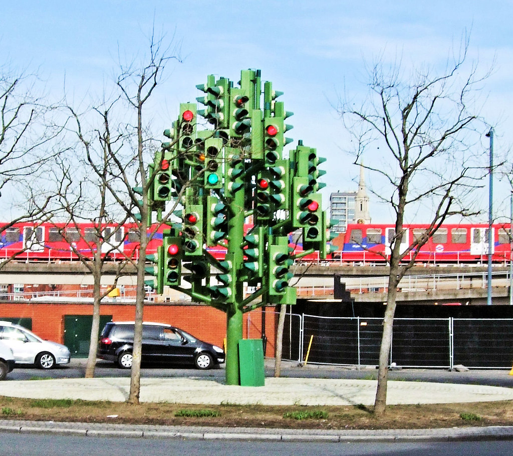 The Traffic Light Tree Isle of Dogs  London  The Traffic  Flickr