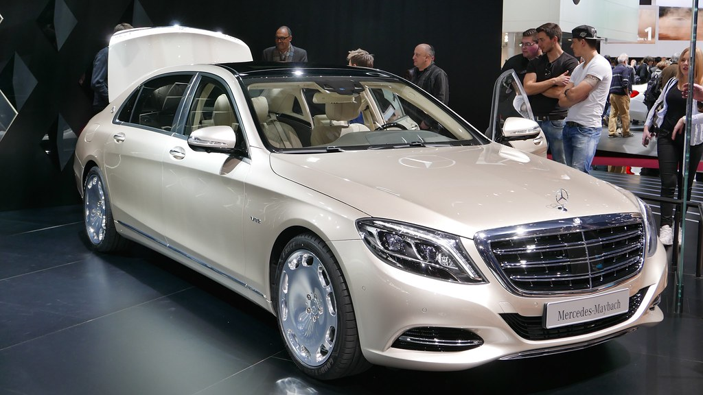 MercedesMaybach S600  From the family of the SClass