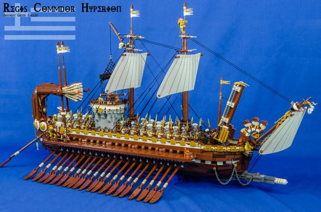 LEGO Greek galley