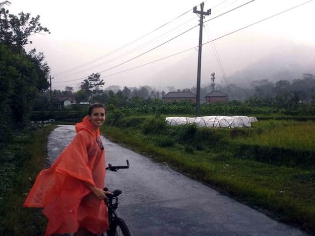 Briana Riding in the Rain