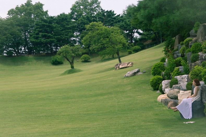 月明洞自然聖殿草坪