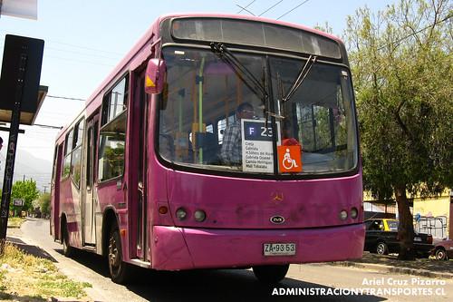 Transantiago - STP Santiago - Maxibus Dolphin / Mercedes Benz (ZA9353)