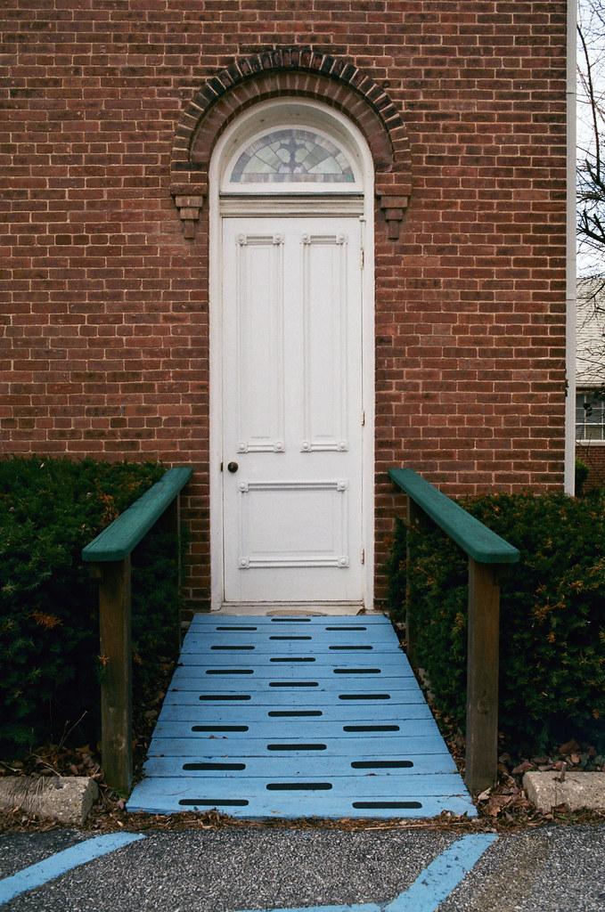 Ramp entrance