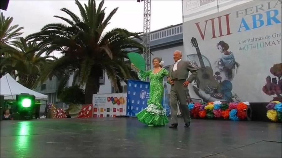 Pasarela Andaluza Antonio Atencia y Esposa VIII Feria de abril Las Palmas Gran Canaria