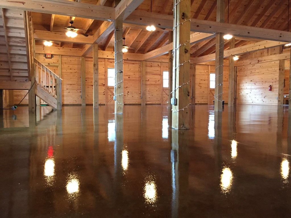 Stained concrete barn floor in Goode VA  Tim Seay  Flickr
