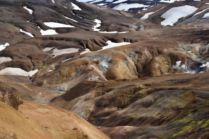 Hveradalir, visitar Islandia