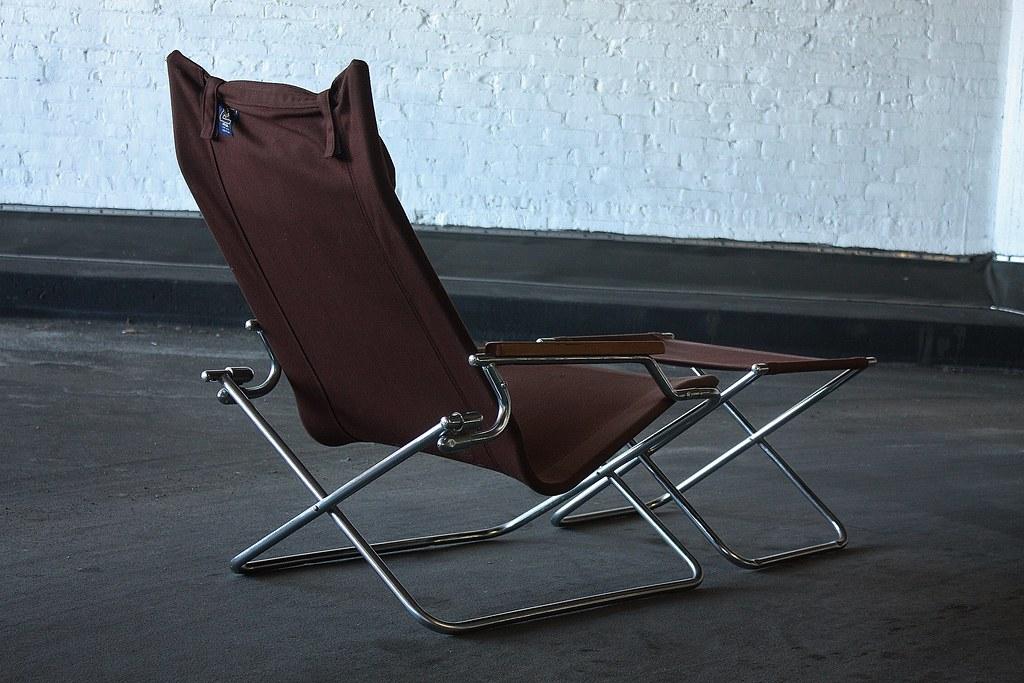 folding z chair portable walking singapore appealing shigeru uchida japanese modern a flickr and ottoman japan 1970s by