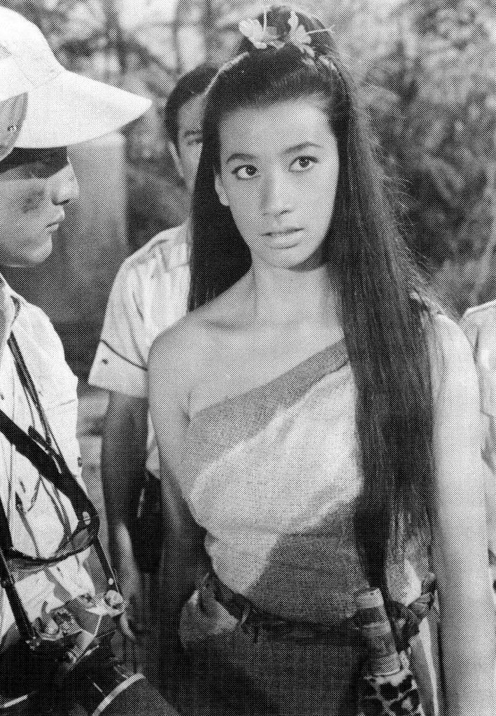Bibari Maeda in Son of Godzilla 1967  Via Black Sun