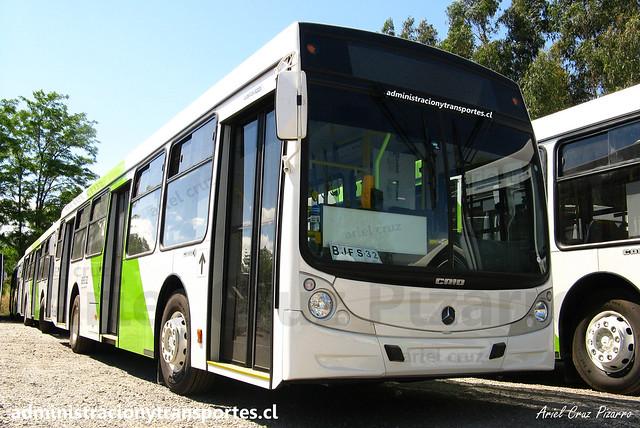 Transantiago | Buses Vule | Caio Mondego H - Mercedes Benz / BJFS32