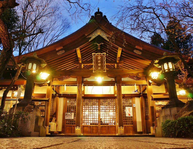 Atago Shrine in Tokyo